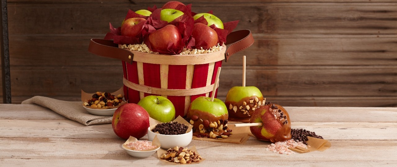 basket-of-dipped-apples