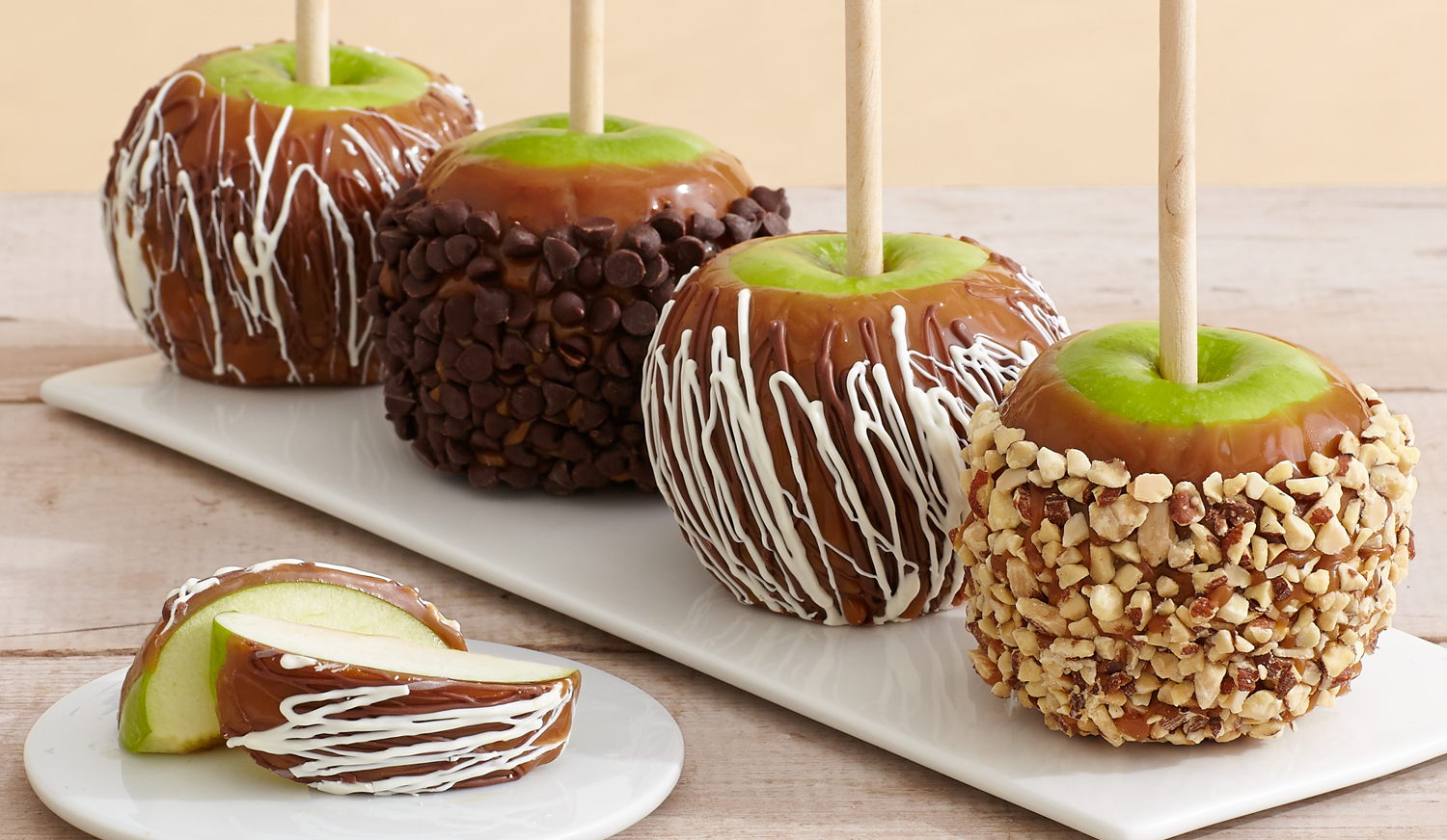 Caramel Apples (and Dark, Milk and White Chocolate, too)