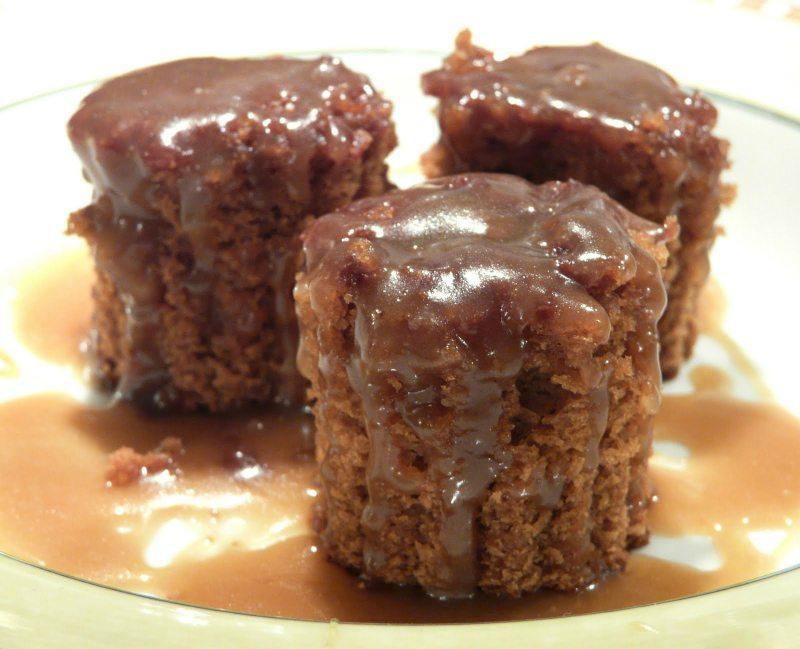 Gingerbread Cake with Caramel Sauce by Thibeualt's Table