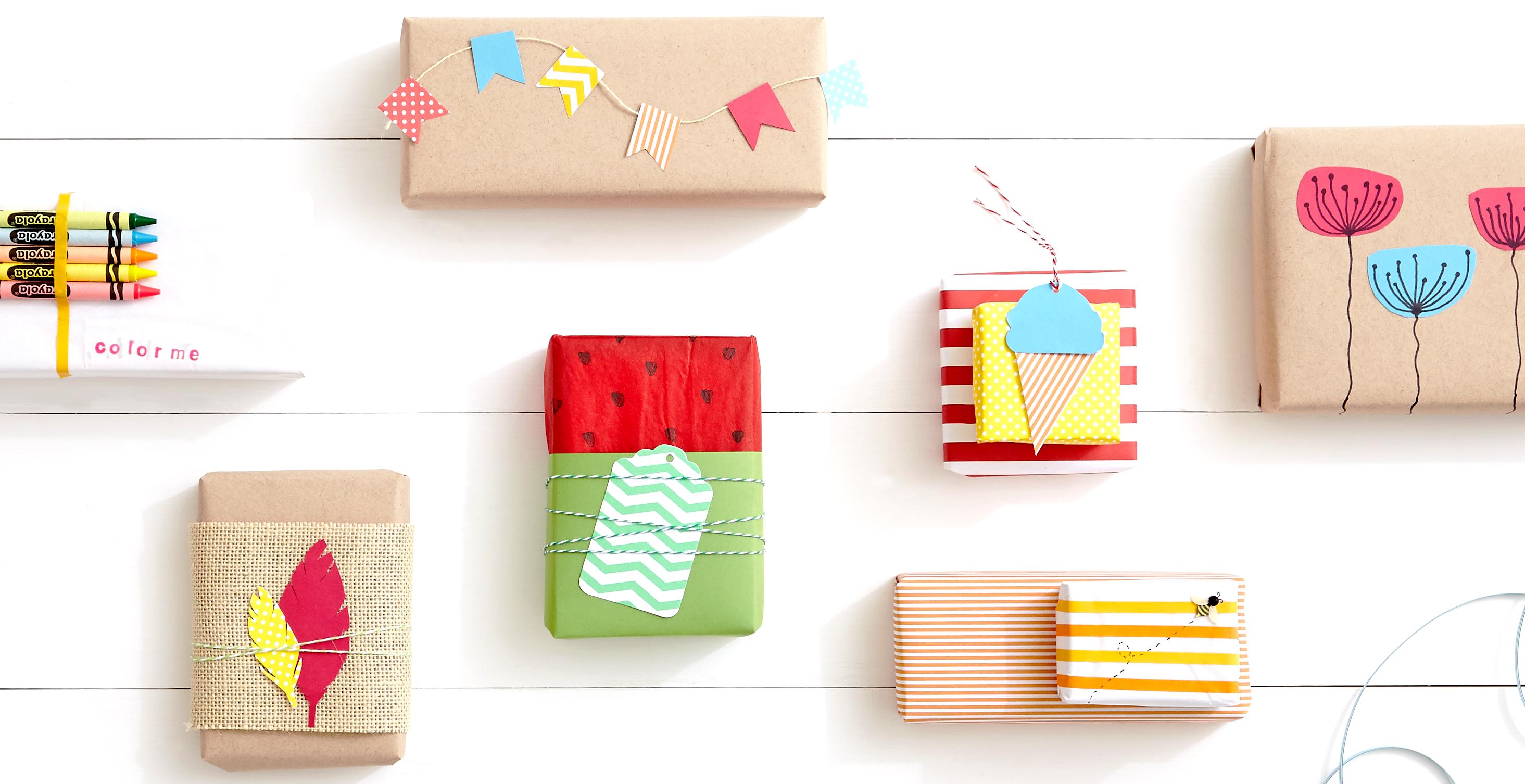 Diy 5 summer gift wraps sharis berries diy 5 summer gift wraps negle Choice Image