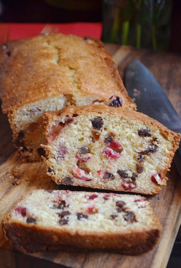 cranberry chocolate chip coffee cake