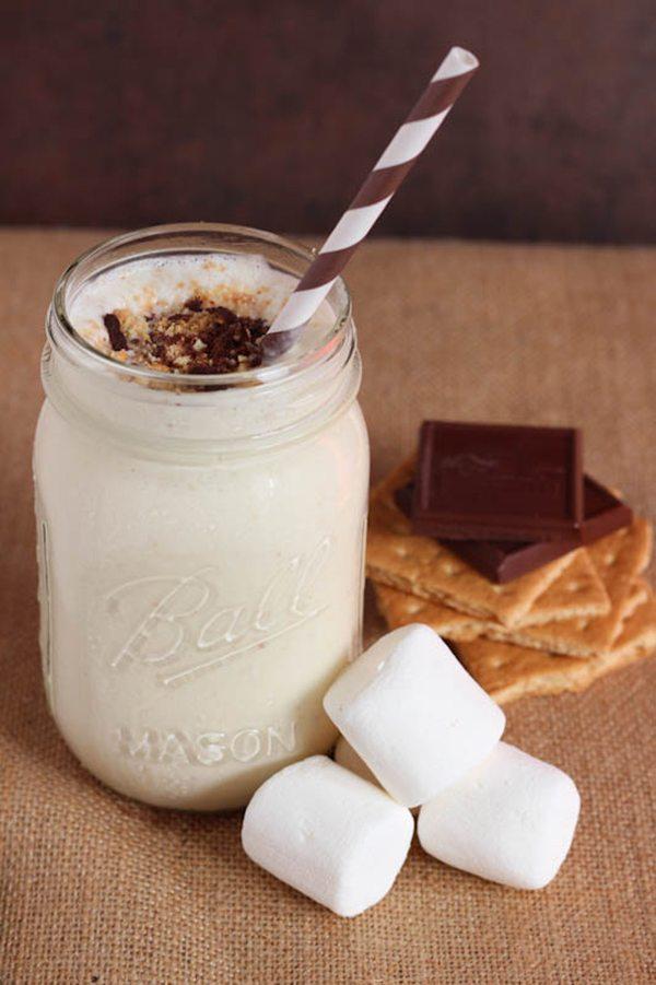 Spoonful of Flavor S'mores Milkshake