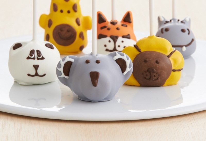 Handmade Zoo Animals Brownie Pops