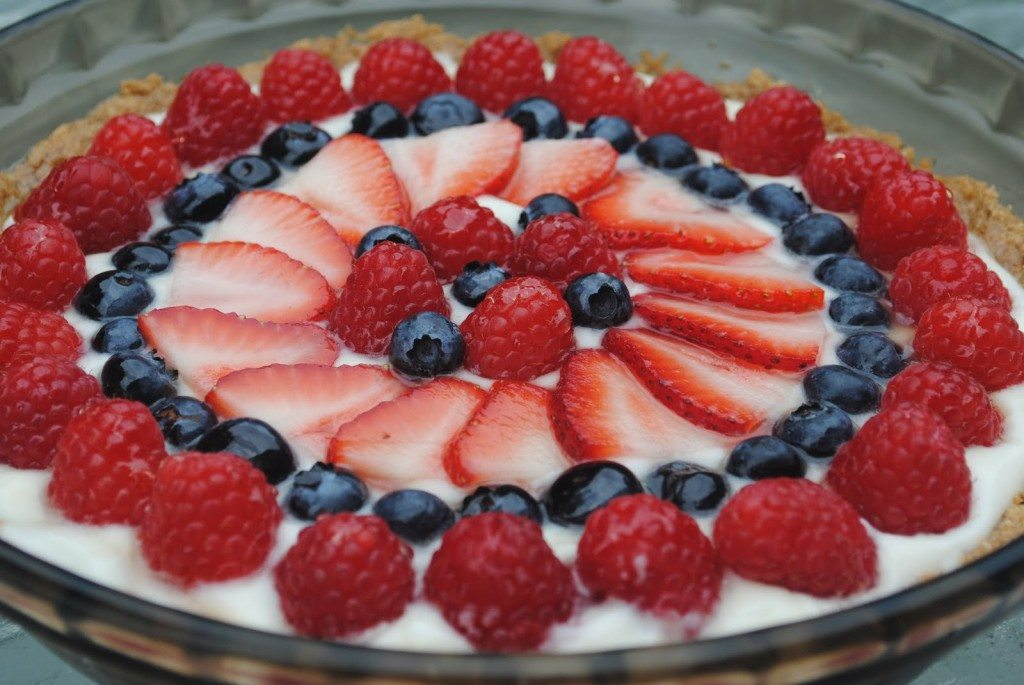 Red, White and Blue Tart