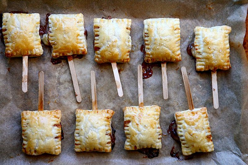 Treats on a Stick | Baked Brie