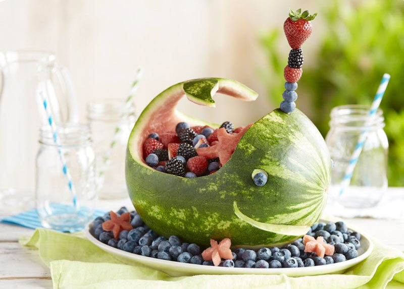 Berry Whale Centerpiece from Driscoll's