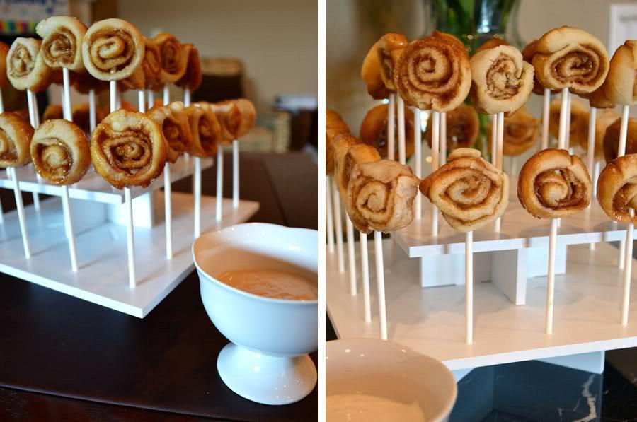 Treats on a Stick | Mini Buttermilk Cinnamon Buns