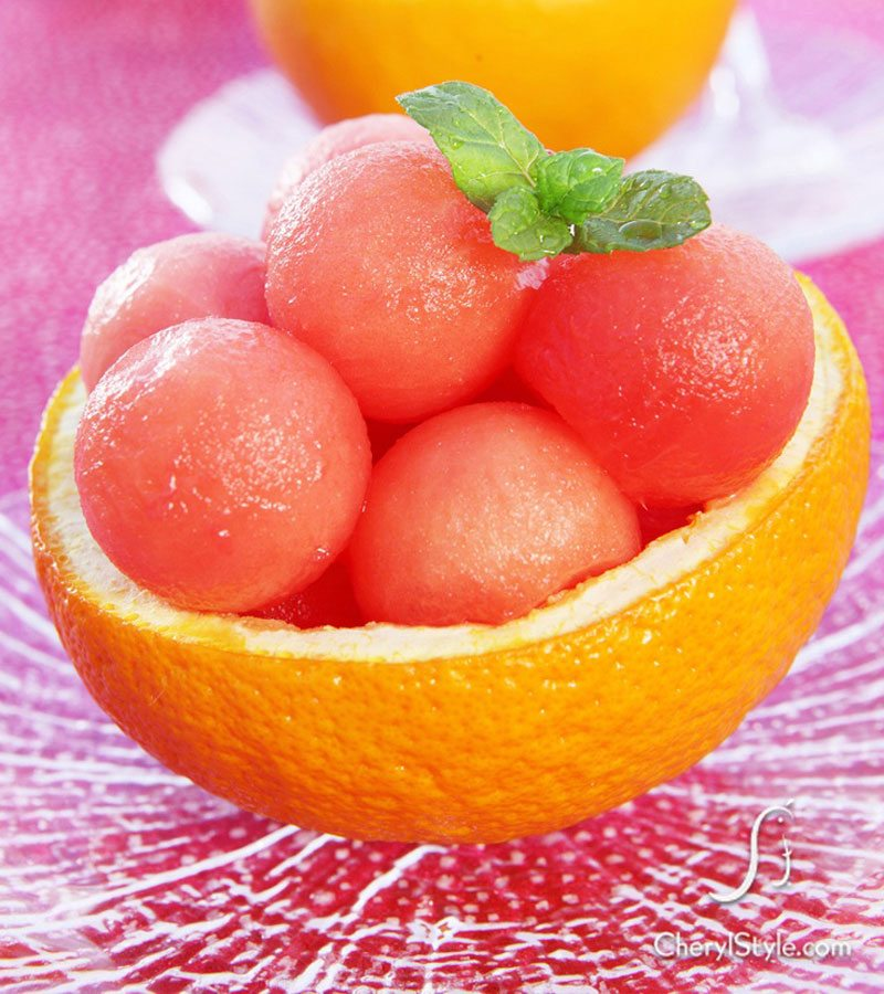 Mini Citrus Bowls from Cheryl Style