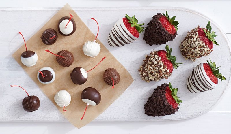 double-dipped berries