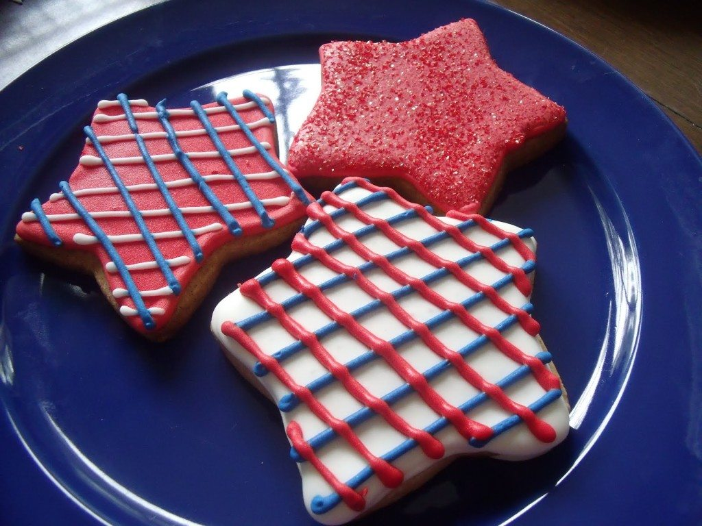 Stars and Stripes Forever Cookies