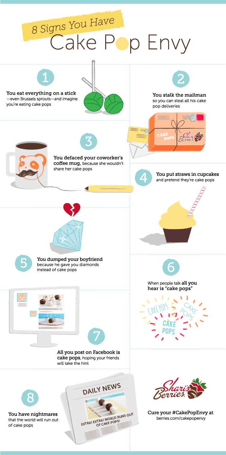 8 Signs You Have Cake Pop Envy