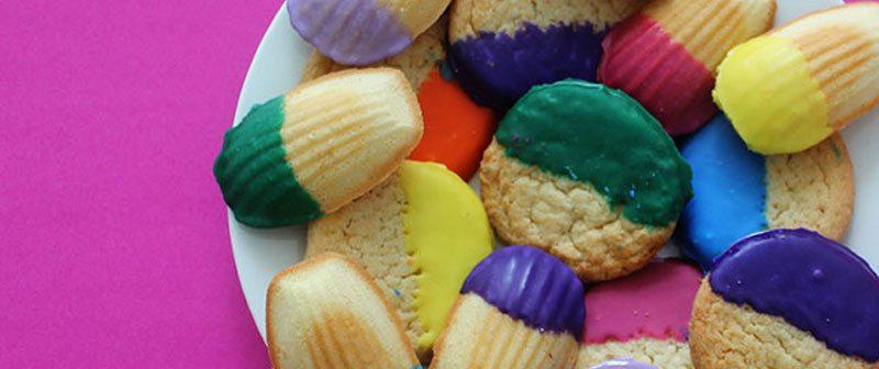 dip dye cookies