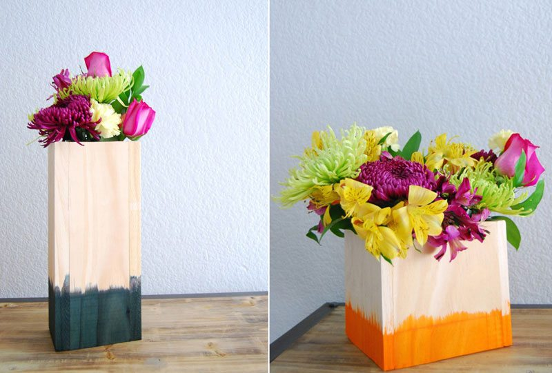 dipped vases