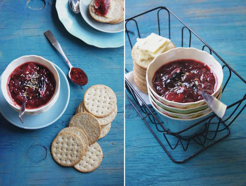 Spiced Strawberry Chutney