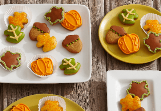 Autumn Mini Cookies