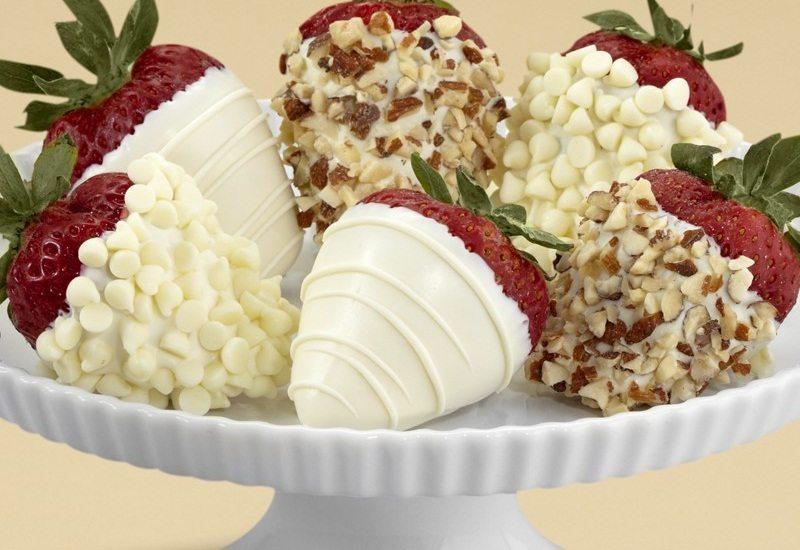 All White Strawberries