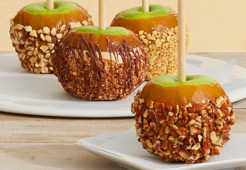 Hand-Dipped Caramel Apples - Nut Lovers Collection