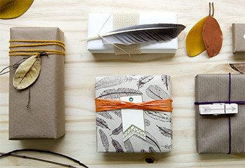 DIY: 4 Fall Gift Wraps