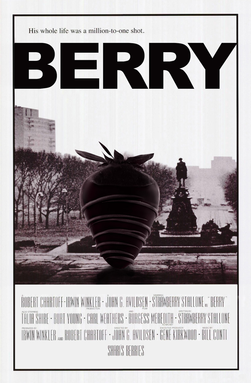 Shari's Berries at the Movies: Rocky