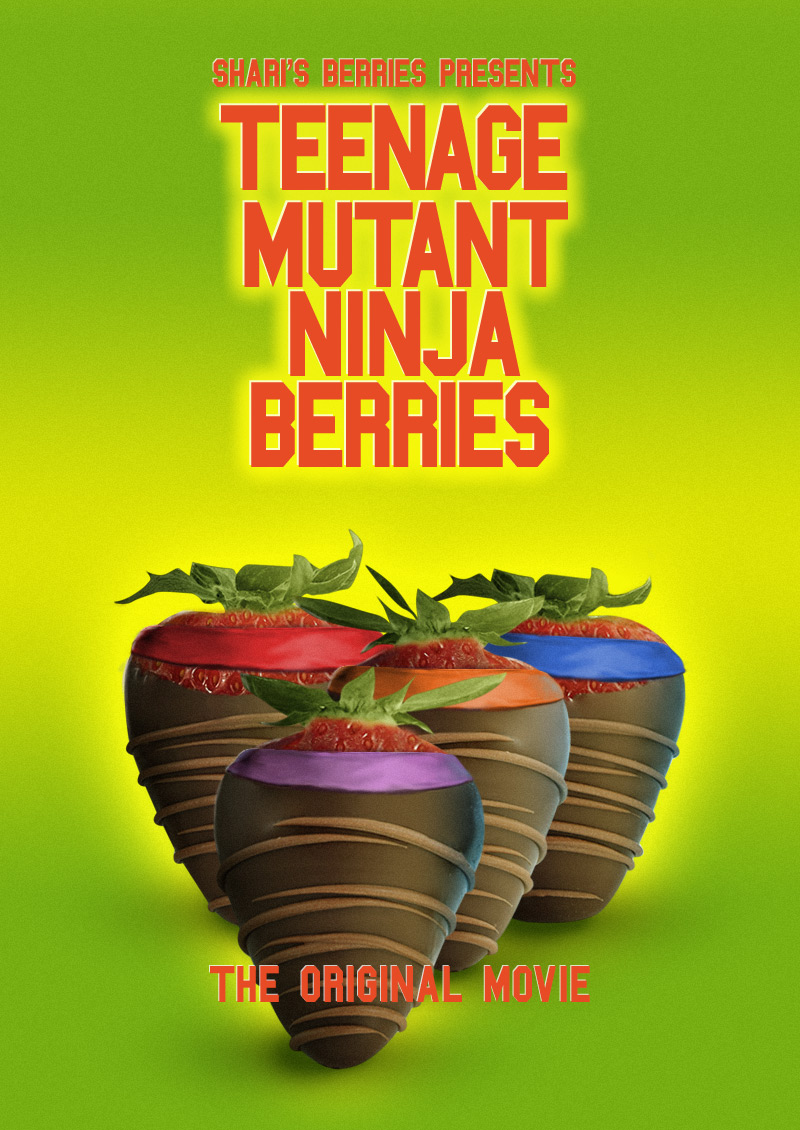 Shari's Berries at the Movies: Teenage Mutant Ninja Berries