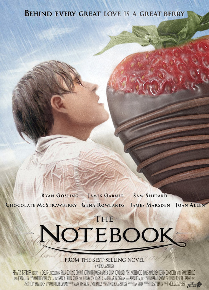 Shari's Berries at the Movies: The Notebook