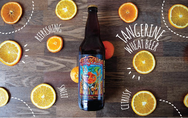 Lost Coast Brewery: Tangerine