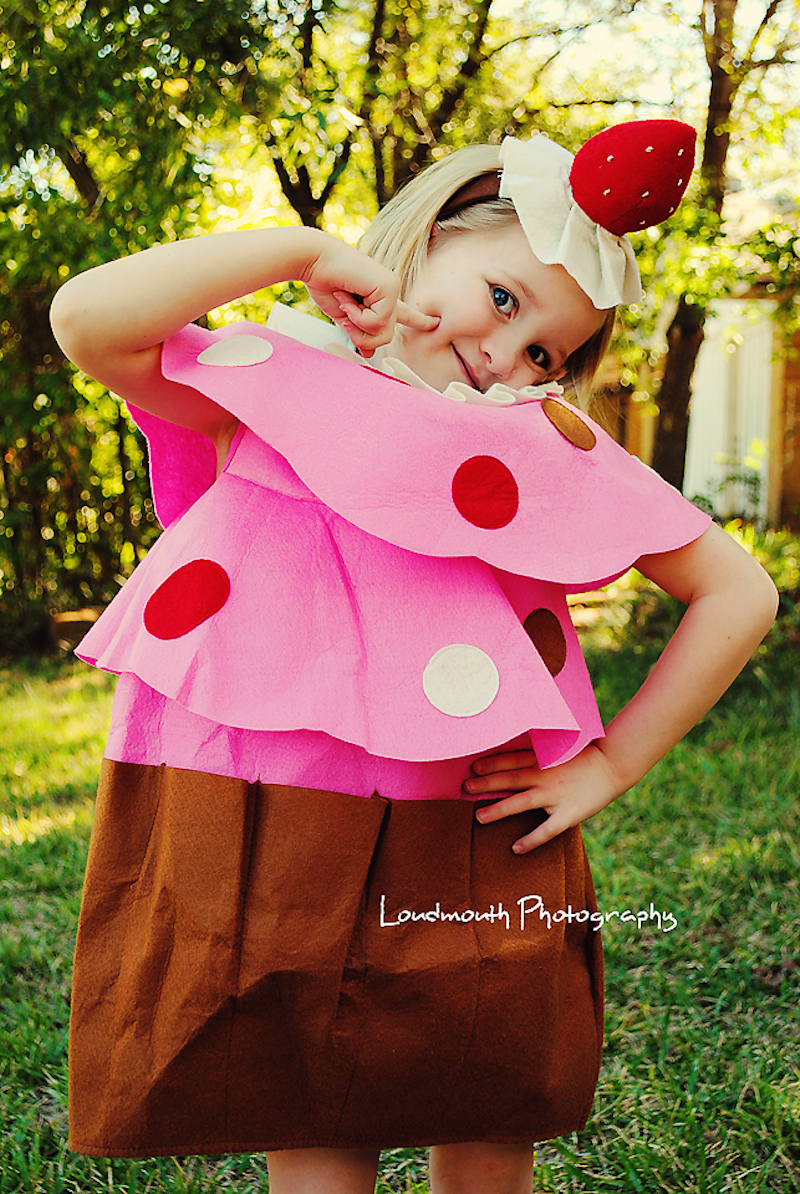 Strawberry Cupcake Costume