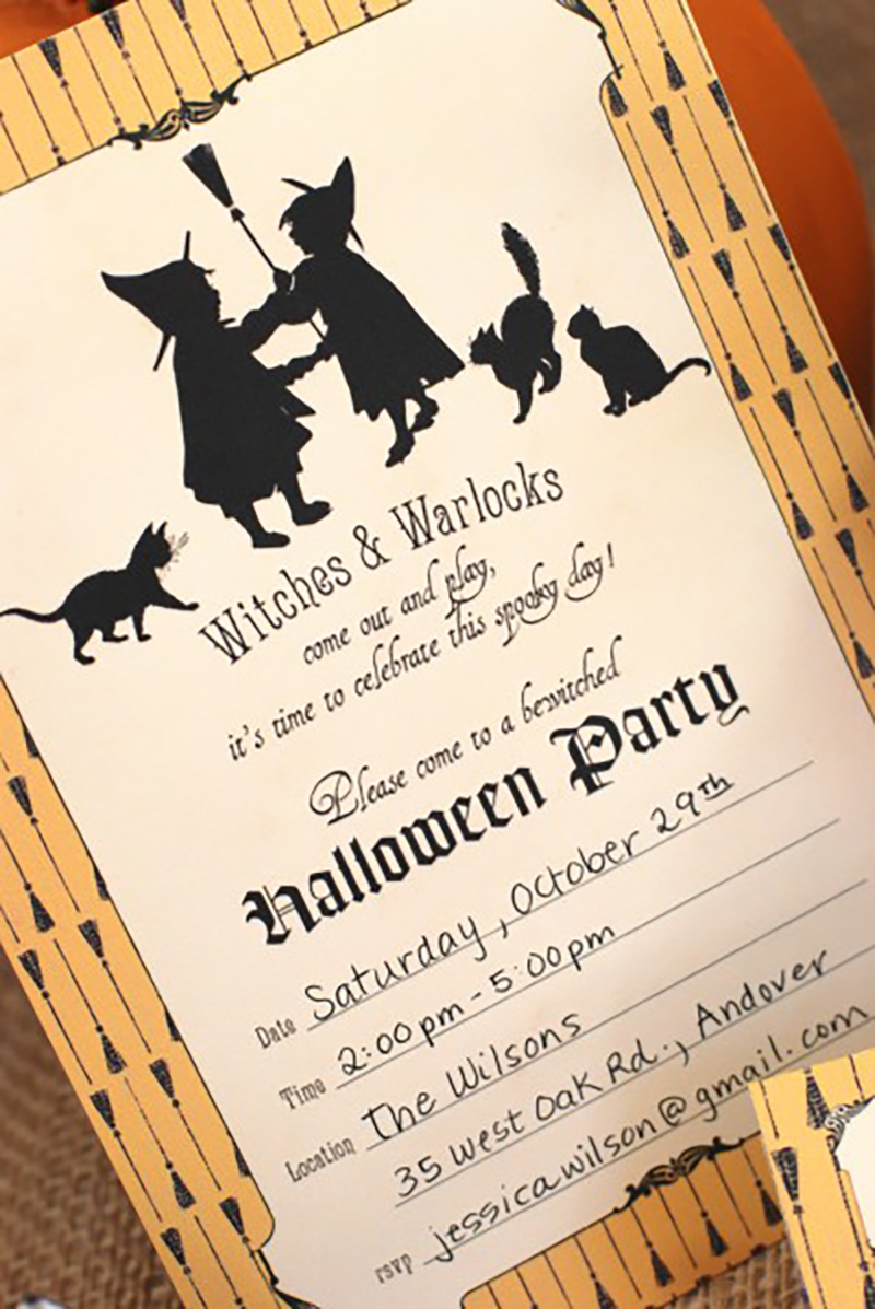 Gmail themes halloween - Photo Courtesy Of Catch My Party