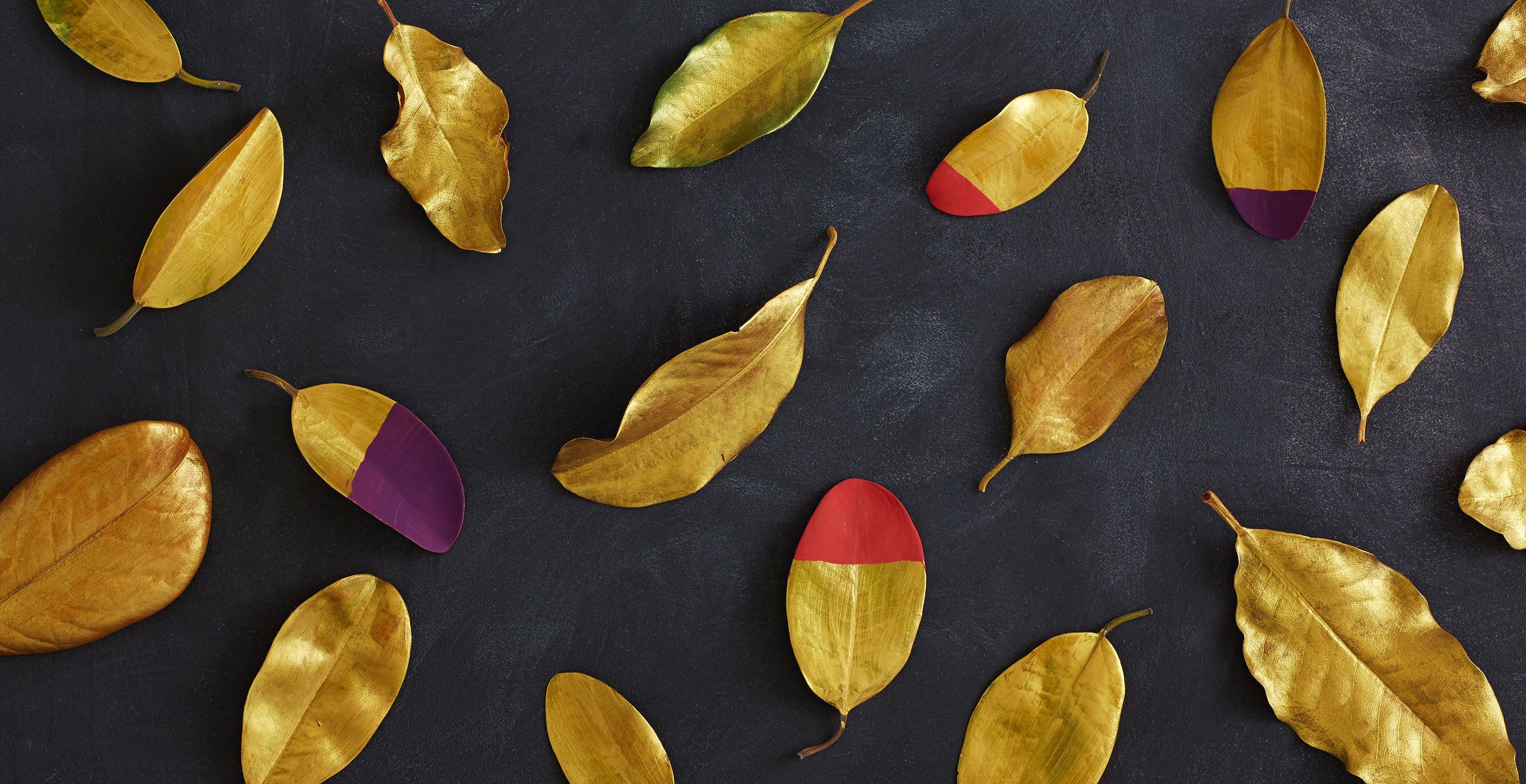 DIY: Dipped Fall Leaves