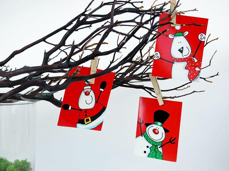 DIY: Christmas Card Tree