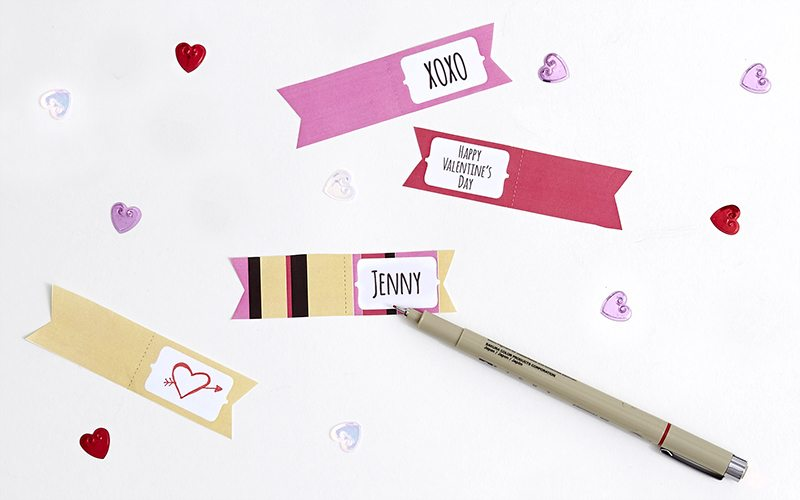 DIY: Printable Valentine's Gift Tags