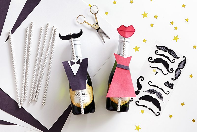 DIY: Oscar Party Swag Bags