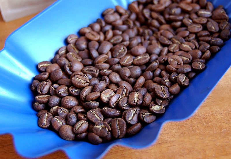 Coffee Beans | portioning tray