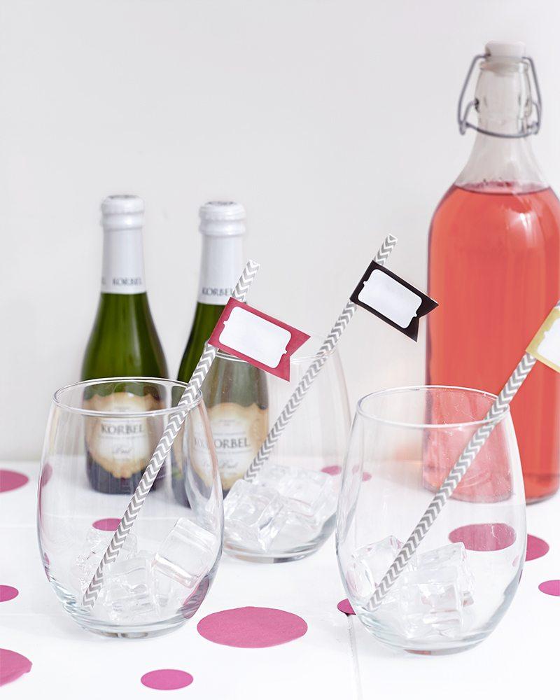 Palentine's Day: Champagne Spritzer
