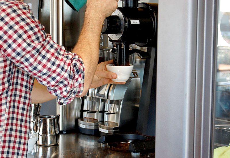 Coffee grinder | grinding beans
