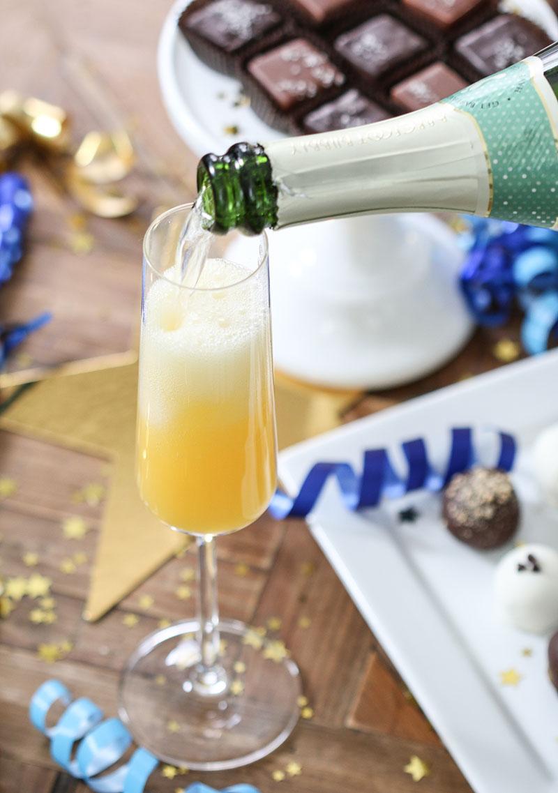 New Year's Champagne Celebration