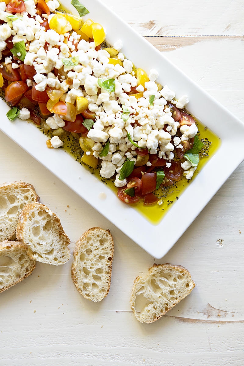 New Year's Eve Appetizer: Tomatos & Goat Cheese