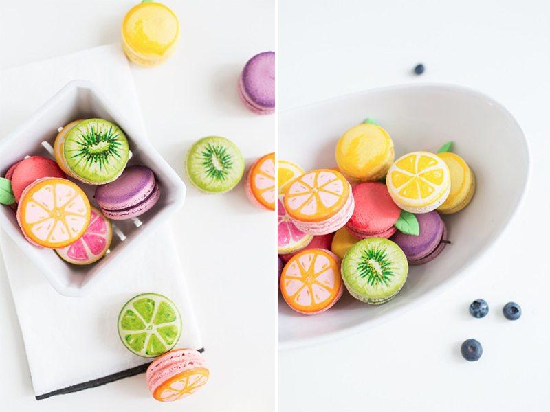 fruitmacarons