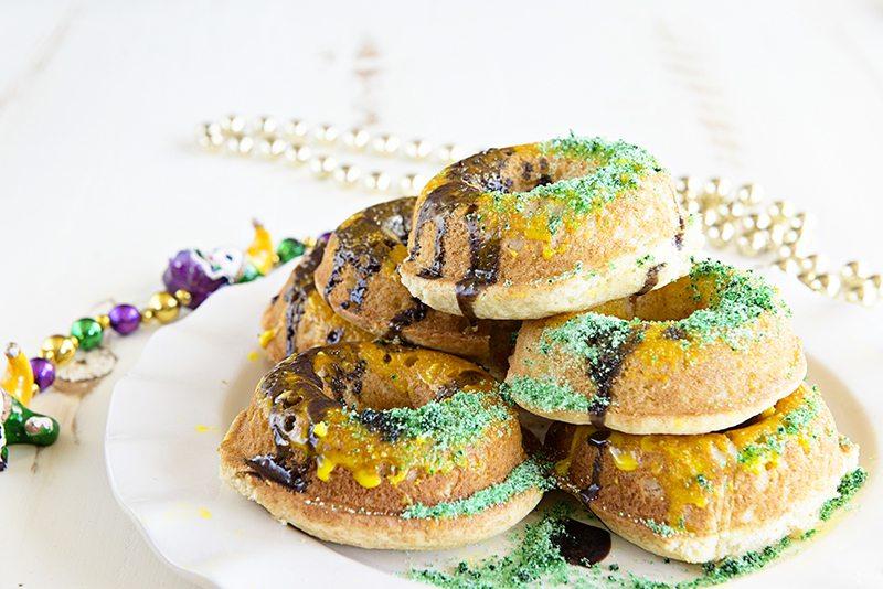 Mardi Gras Doughnuts