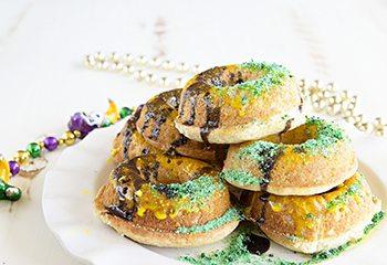 Mardi Gras Doughnuts thumb