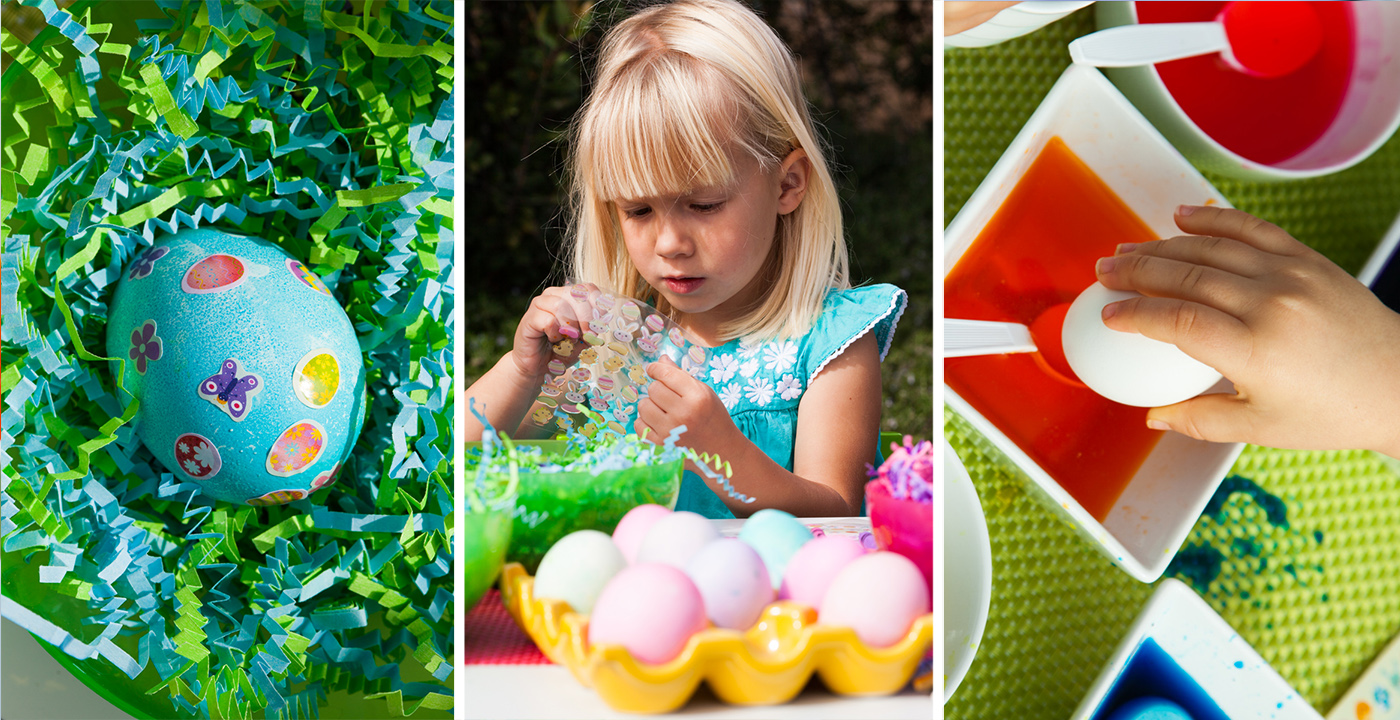 Easter Egg Decorating Party For Kids