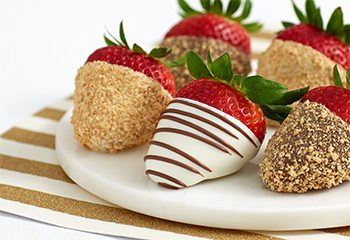 Gourmet Dipped Cheesecake Strawberries