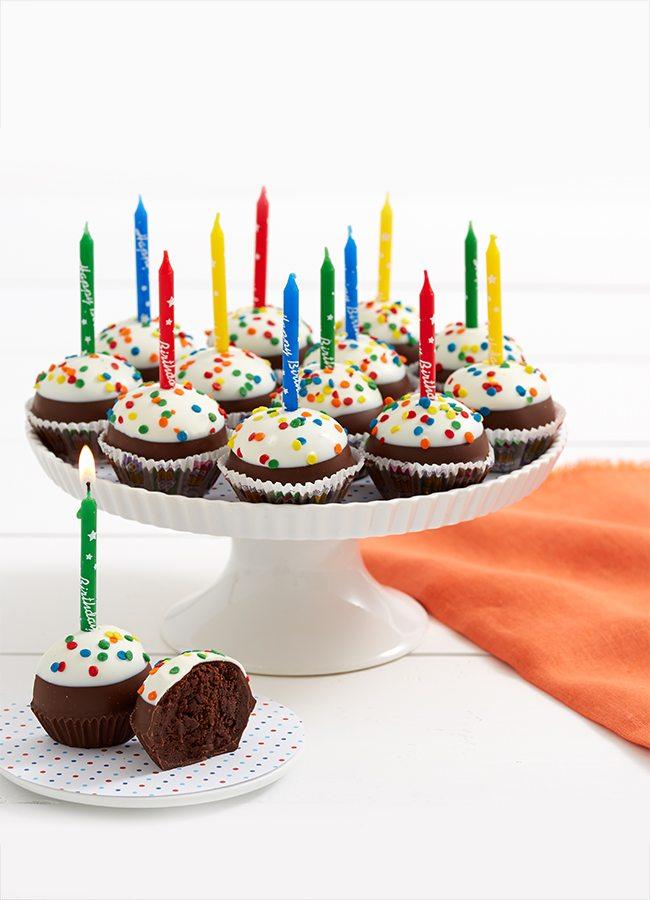 Birthday Brownie Pops   Shari's Berries