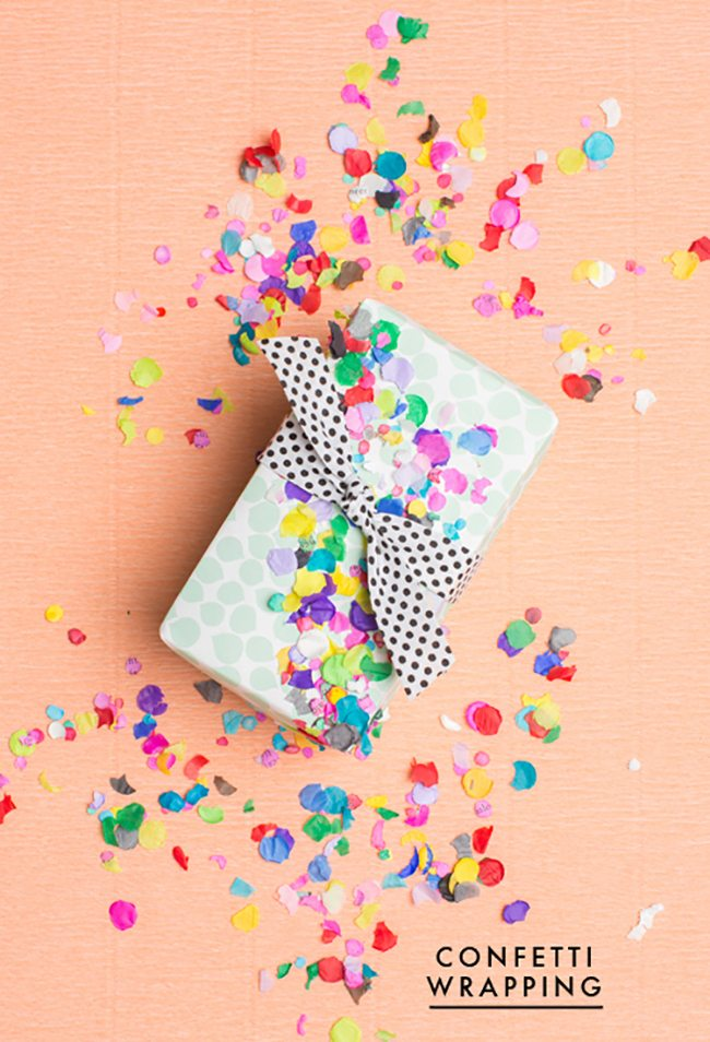 CONFETTI WRAPPING PAPER   The House That Lars Built