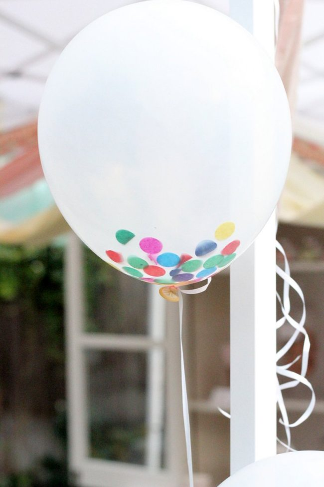 Confetti Balloon | Kojo Designs