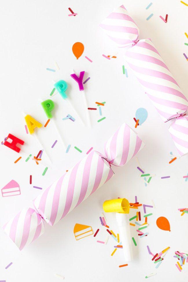 DIY Birthday Confetti Popper   Studio DIY