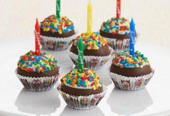 Birthday Brownie Pops