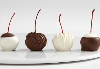 Hand-Dipped Cherries