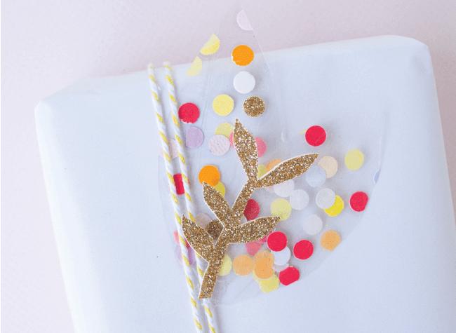 Confetti Leaves | Craft Hunter