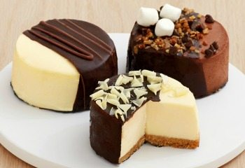 Dipped Cheesecakes
